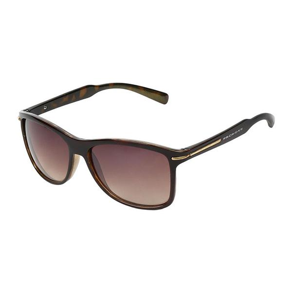 Óculos Solar Prorider Marrom Translucido Dourado