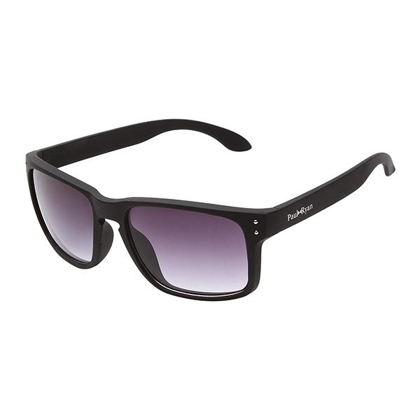 Óculos Solar Paul Ryan Preto Prata