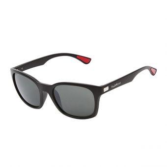 Óculos Solar Paul Ryan Preto, Vermelho e Prata