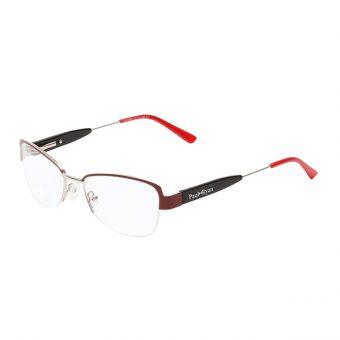 Óculos Paul Ryan Vermelho, Prata e Preto