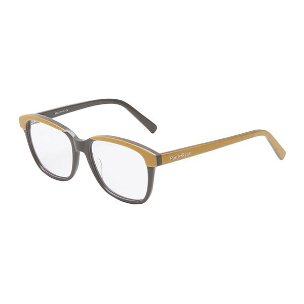 Óculos Paul Ryan Cinza Mostarda