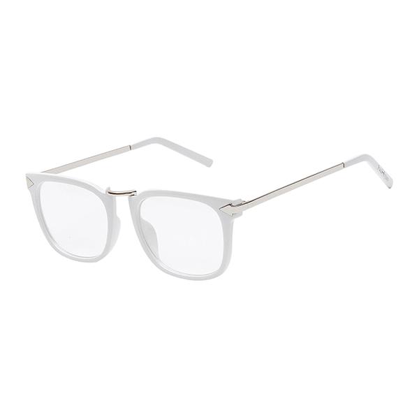 Óculos Paul Ryan Branco Prata