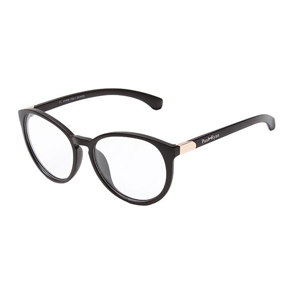Óculos Paul Ryan Preto Dourado