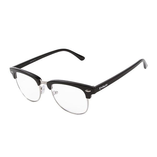 1feb3d4385f34 Óculos Evasolo Preto Prata