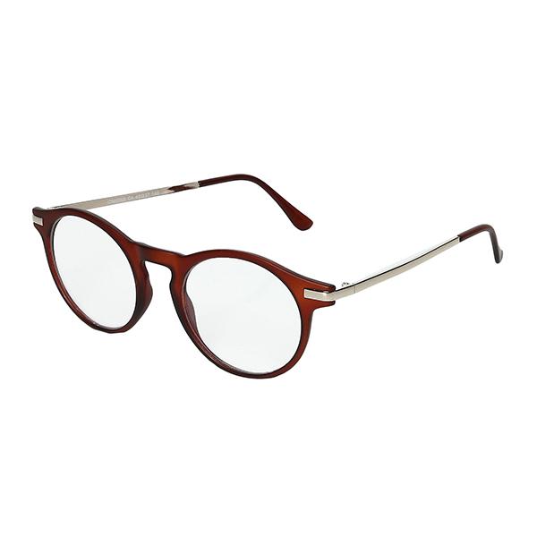 Óculos Evasolo Marrom Dourado