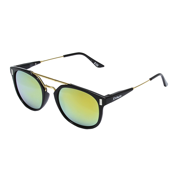 Óculos Solar Evasolo Preto Dourado