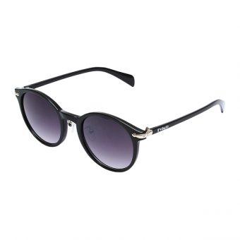 Óculos Solar Evasolo 876 Preto Dourado