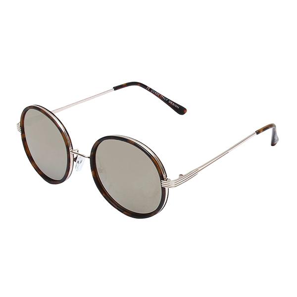 Óculos Solar Evasolo Tartaruga Dourado