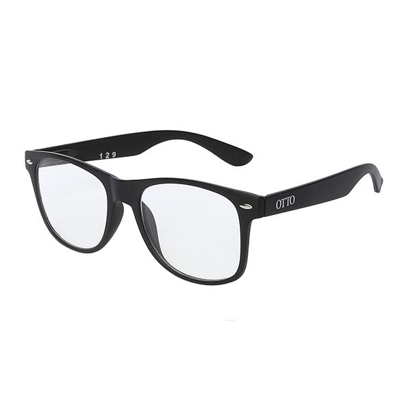 Óculos Otto preto.
