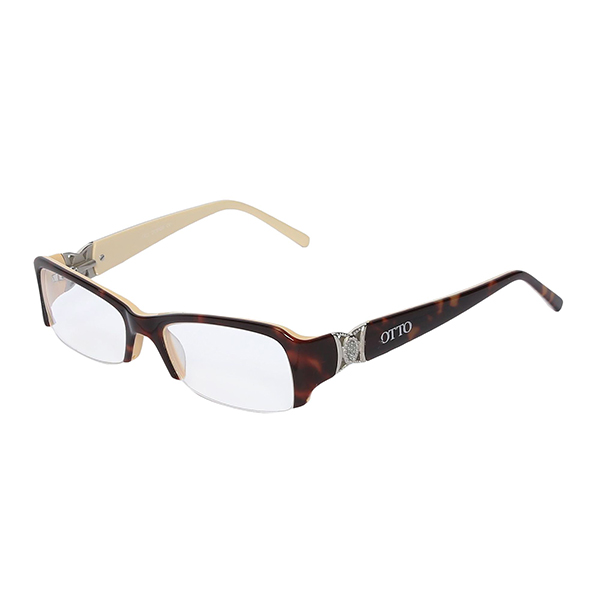 Óculos Otto Tartaruga, Bege Prata