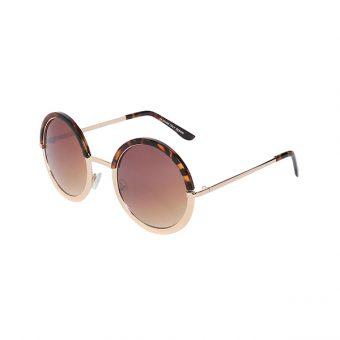 Óculos Solar Otto H01422-C3 Dourado Tartaruga
