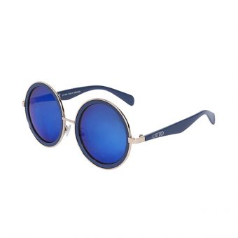 Óculos Solar Otto Dourado e Azul