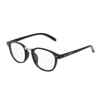Óculos Otto Preto Dourado