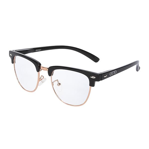 Óculos Otto Odissey, Preto e Dourado
