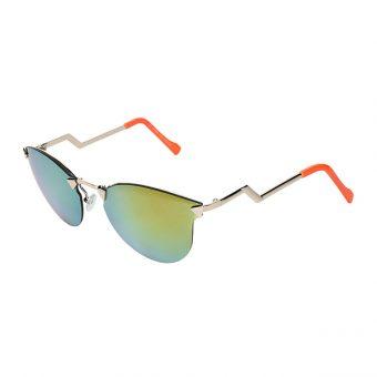 Óculos Solar Dawoo Dourado e Laranja