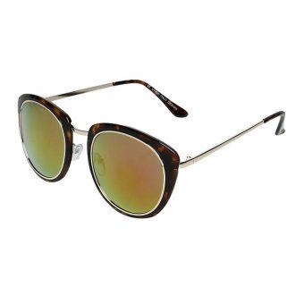 Óculos Solar Conbelive Tartaruga Dourado